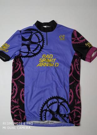 Велосипедная футболка vintage italy