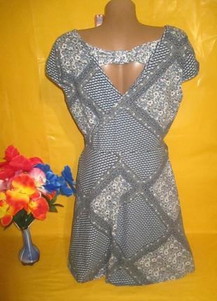 Женское платье с красивой спиной dorothy perkins  рр 16 грудь 49-59 см 96% катон6 фото