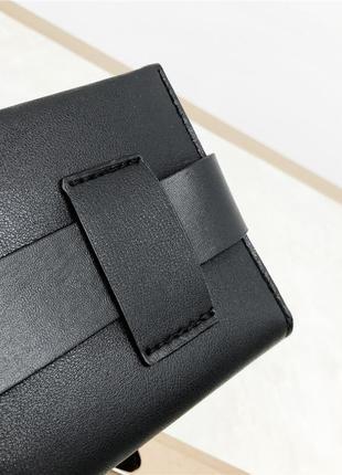 Поясная сумка на пояс бананка черная с кольцом новая6 фото