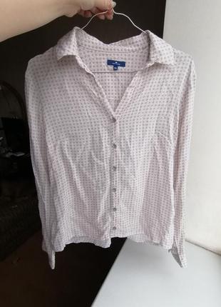 Рубашка блузка дорогого бренда tom tailor (к083)