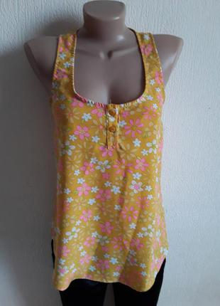 Рубашка - майка  в цветочный принт от  asos