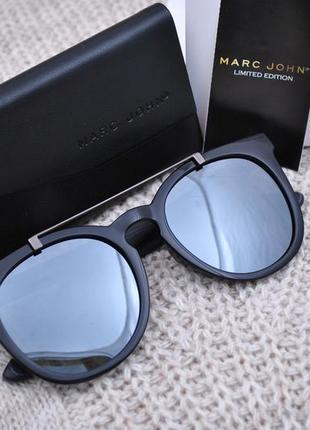 Фирменные солнцезащитные большие очки marc john polarized mj0759 на крупное лицо