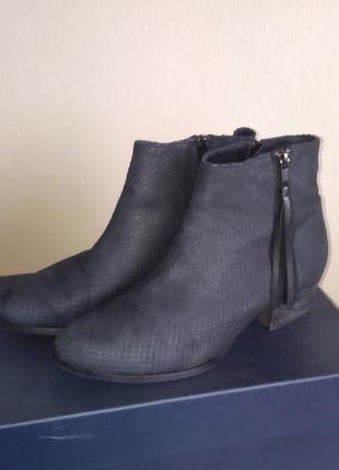 Кожаные ботинки челси minelli р.38 оригинал