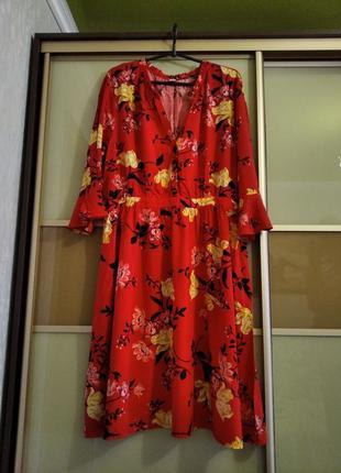 Платье вискоза новое
