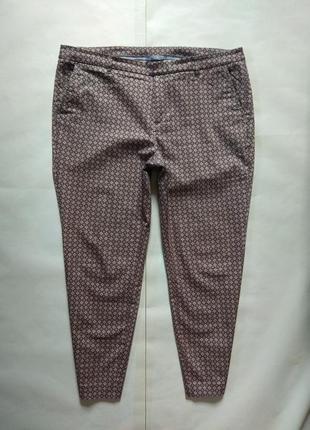 Легкие летние штаны брюки скинни с высокой талией yessica, 16 размер.
