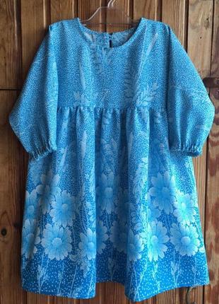 Супер платье хлопок на 2-3 годика