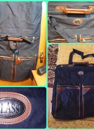 Портплед чемодан сумка кофр органайер бренд class uk англия