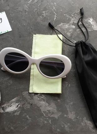 Солнцезащитные очки куртка кобейна лунатики футуриста сонцезахисні окуляри курт кобейн4 фото