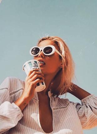 Солнцезащитные очки куртка кобейна лунатики футуриста сонцезахисні окуляри курт кобейн6 фото