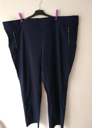 Стрейчевые брюки лосины джеггинсы yessica евро р. 60 (батал)