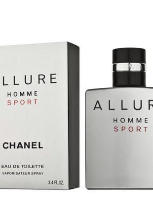 Chanel allure homme sport  100 ml (лиц.)