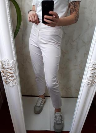 Нежно-розовые брюки marks & spencer