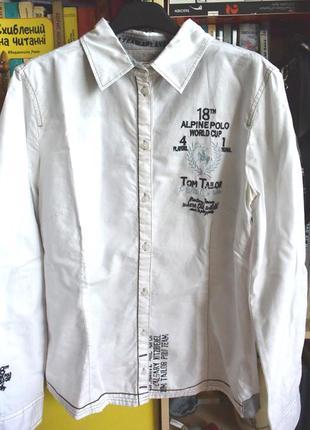 Рубашка tom tailor с аппликацией