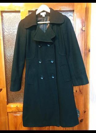 Якісне чорне пальто н&м
