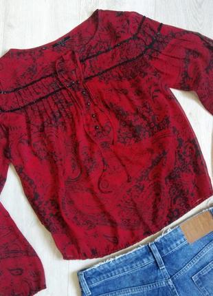 Блуза, блузка, рубашка, шифоновая блуза