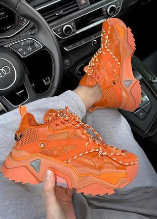 Кросівки calvin klein orange ( premium ) кроссовки