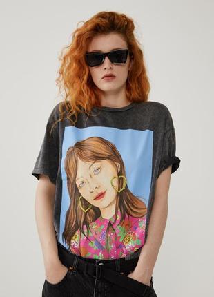 Разные женская футболка zara s m l xl  жіноча футболка zara