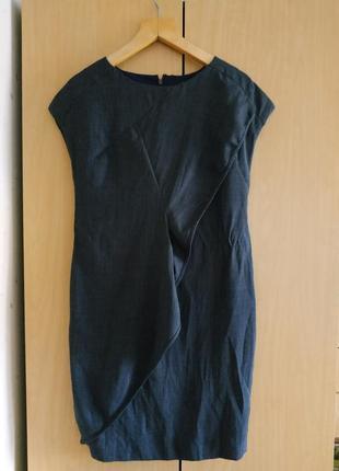 Платье базовое классическое в офис футляр карандаш миди cos