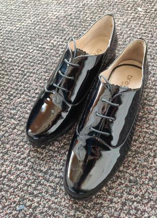 Кожаные туфли braska