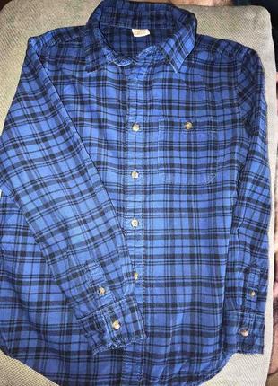 Фланелевая рубашка для мальчика