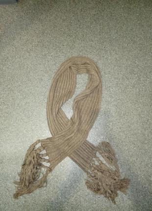 Шикарный теплый шарф
