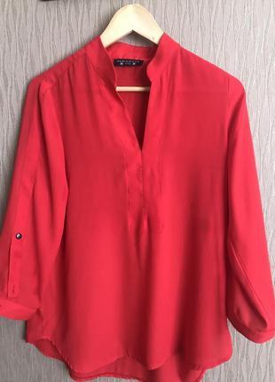 Червона блуза parisienne