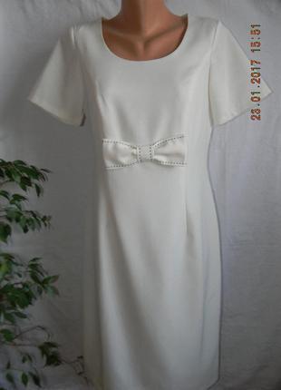 Єлегантное платье с бантом jhelena