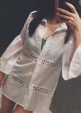 Блузка пляжная