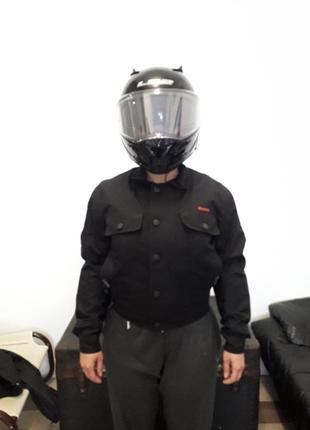 Мотокуртка с защитой