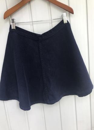 Вельветовая юбка с высокой талией american apparel
