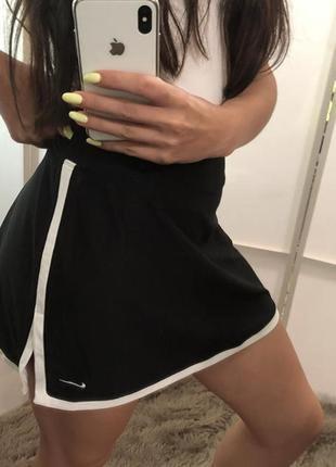 Спортивная юбка шорты nike