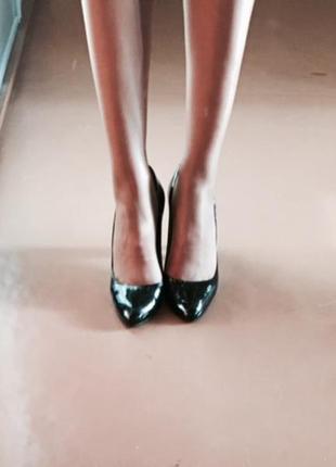 Туфли лаковые, кожа paul smith