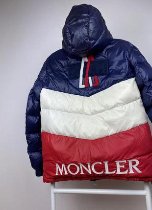 Куртка moncler x kith пуховик