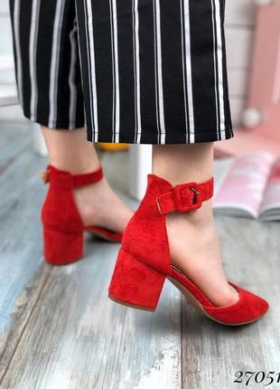 Стильные женские босоножки на низком каблуке, туфли, босоножки острый носок