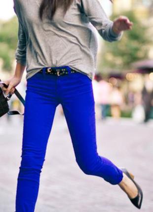 ✅укороченные джинсы