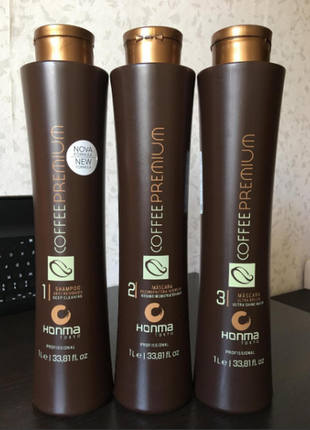Кратин  нonma тokyo coffee premium 3 х 1000 мл