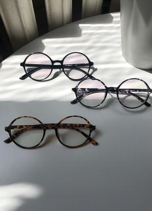 Очки круглые очки окуляри круглі