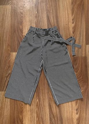 Кюлоты / брюки / штаны zara с поясом
