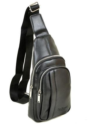 Рюкзак dr. bond 1106 на плечо черный