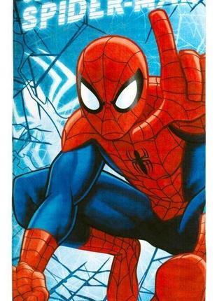 Детское полотенце человек паук 70x140см spiderman