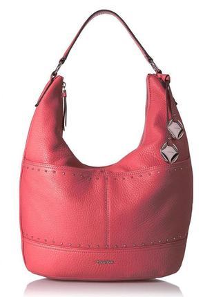 Сумка кожаная calvin klein avery pebble leather bag h7jca1pz оригинал