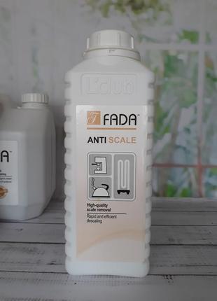 Средство для удаления накипи  fada anti scale, 1 л