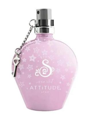 Женская туалетная вода avon secret attitude star