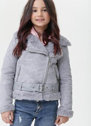 Куртка-косуха для дівчинки