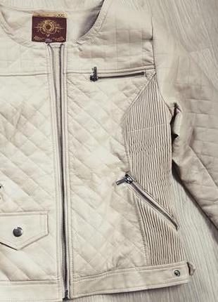 Куртка косуха кожанка