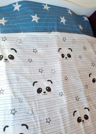 Постельное белье 1,5 полуторный панды
