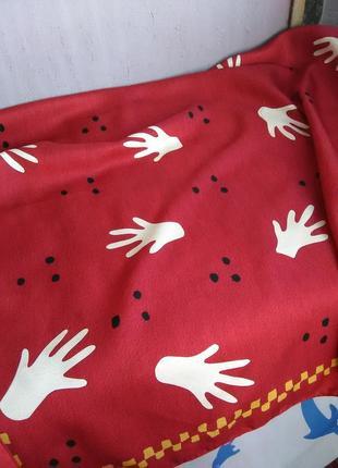 Шёлковый платок bvlgari