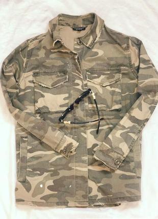 Рубашка милитари