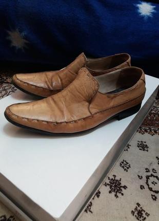 Туфли мужские светлые