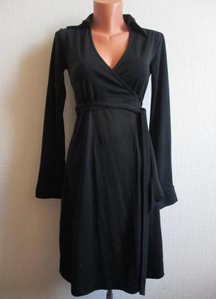 Стильное трикотажное платье-кардиган express